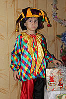 Детский карнавальный костюм Скоморох цветной - прокат, Киев, Троещина
