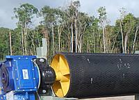 Обрезинивание (гуммирование) натяжных и отклоняющих барабанов конвейеров