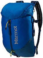 Рюкзак туристический из нейлона на 18 л Marmot Kompressor  MRT 24920.2643 peak blue/dark sapphire, синий
