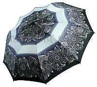 Женский зонт Zest Цветочный узор ( полный автомат, 10 спиц ) арт. 23966-32