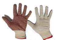 Хлопчатобумажные рабочие перчатки кирпич Luxe