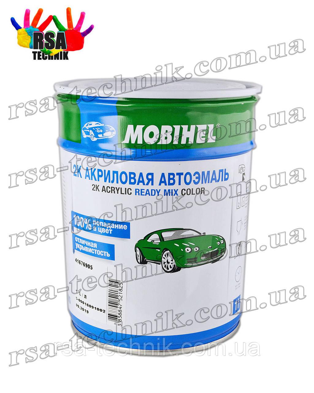 Акрилова емаль mobihel 1л VW LY5D Azurit Blau