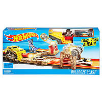Автотрек Толчок бульдозера Bulldoze Blast Hot Wheels, Хот вилс, DJF04, DNR74-2
