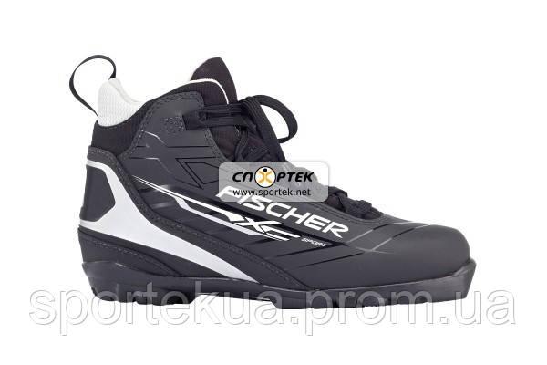 Черевики лижні FISCHER XC Sport Black р.46 - СПОРТЕК в Львове bf90a6248010d