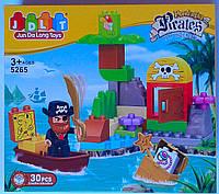 Конструктор Пластмассовый 30 дет. Пираты 5265 Китай