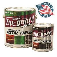 Краска по металлу Zip-Guard (зип гард)-9,45 л, молотковая антикоррозионная
