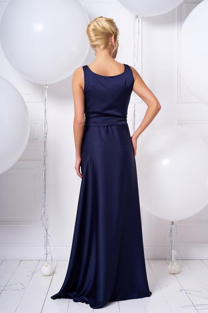 9d3ff0dc6fb Женское платье в пол из шелка с запахом   продажа