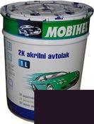 Краска Mobihel Акрил 0,1л 107 Баклажан.