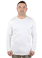 Белая мужская водолазка из хлопка