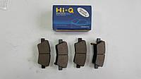 Задние тормозные колодки Hyundai Accent 2011- Hi-Q Sangsin Корея SP1401