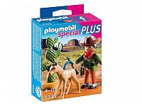 Конструктор Playmobil 5373  Ковбой с жеребенком, фото 1