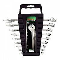 Набор ключей комбинированных 9 предметов 6-19мм Toptul  GAAC0901