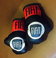 Перчатки боксерские сувенир в авто фиат