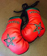 Перчатки мини боксерские сувенир-брелок в авто