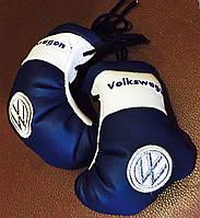Перчатки мини боксерские сувенир-брелок в авто WV