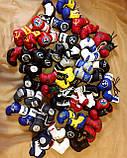 Перчатки боксерские мини сувенир подвеска в авто NISSAN, фото 3