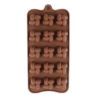 Форма силиконовая Плетенка для конфет, мармелада, декора, шоколада