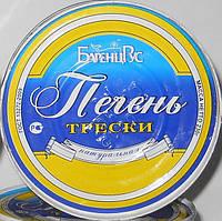 Консерва Печень трески БаренцРус первый сорт 240г
