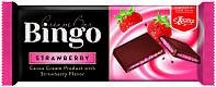 Шоколад молочный Bingo клубника 90 г