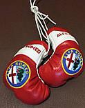 Перчатки боксерские сувенир-брелок в авто BMW, фото 4