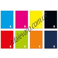 Блокнот в твердом  переплете, формат  А-5, 96 л,  клетка, поля, One Color