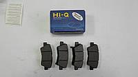 Задние тормозные колодки Hyundai Sonata NF 2007-2009 Hi-Q Sangsin Корея SP1239
