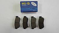 Задние тормозные колодки Hyundai Sonata NF 2006-2007 Hi-Q Sangsin Корея SP1117