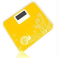 Компактные напольные весы электронные с рисунком