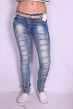 Женские молодежные джинсы (Код:5779)xs.s.m. размеры