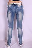 Женские молодежные джинсы (Код:5779)xs.s.m. размеры , фото 3