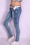 Женские молодежные джинсы (Код:5779)xs.s.m. размеры , фото 4