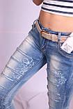 Женские молодежные джинсы (Код:5779)xs.s.m. размеры , фото 6