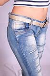 Женские молодежные джинсы (Код:5779)xs.s.m. размеры , фото 7