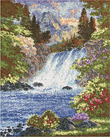 """Набір для вишивання ВДВ М-0029 """"Гірський водоспад"""""""