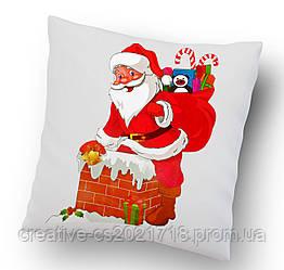 """Подушка """"Санта Клаус"""" 34*34 см."""