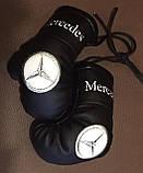 Рукавички боксерські сувенір підвіска у авто з тризубі, фото 6