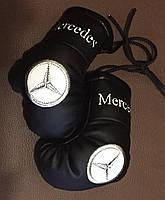 Перчатки боксерские мини сувенир подвеска в авто MERS