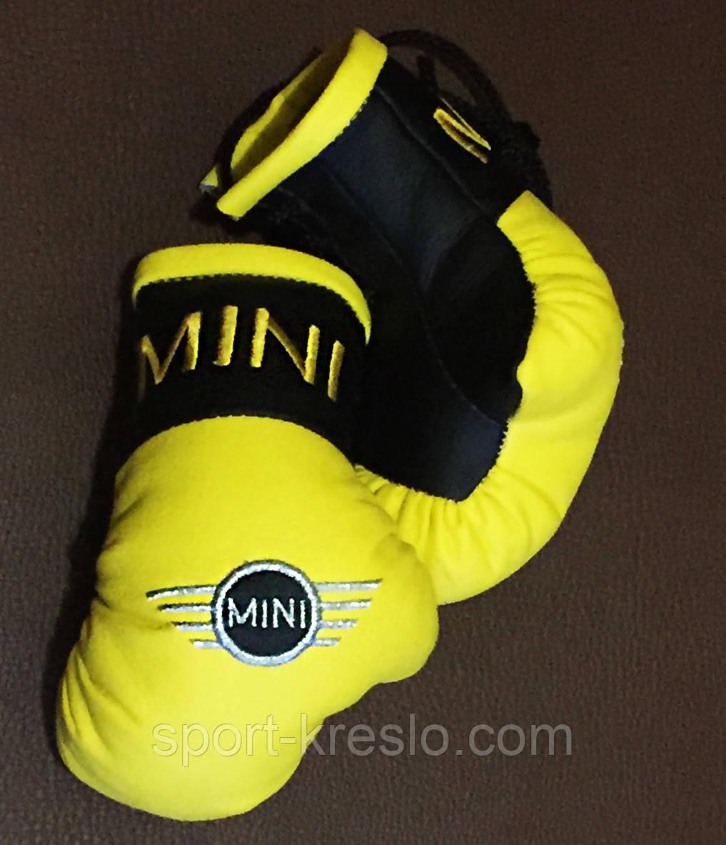 Рукавички боксерські міні сувенір підвіска в авто MINI