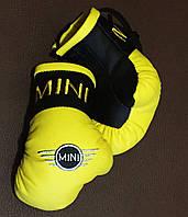 Перчатки боксерские мини сувенир подвеска в авто MINI