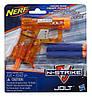 Оранжевый пистолет Нерф Джолт - Jolt, N-Stike, Nerf, Orange, Hasbro