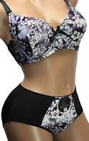 Женское нижнее белье комплект 508 Цвет черный Размер 80D
