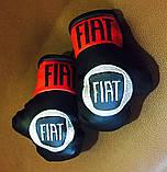 Перчатки боксерские мини сувенир подвеска в авто NISSAN, фото 4