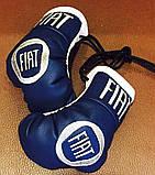 Рукавички боксерські міні сувенір підвіска в авто NISSAN, фото 5