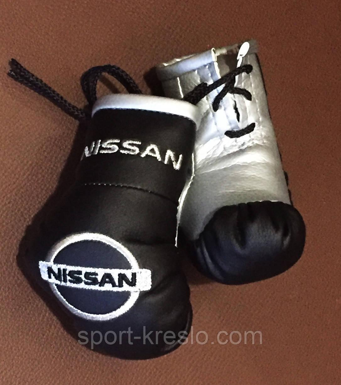 Рукавички боксерські міні сувенір підвіска в авто NISSAN