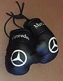Перчатки боксерские мини сувенир подвеска в авто NISSAN, фото 9