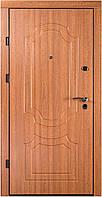 Входная дверь квартира (два контура) модель Канди дуб золотой Оптима