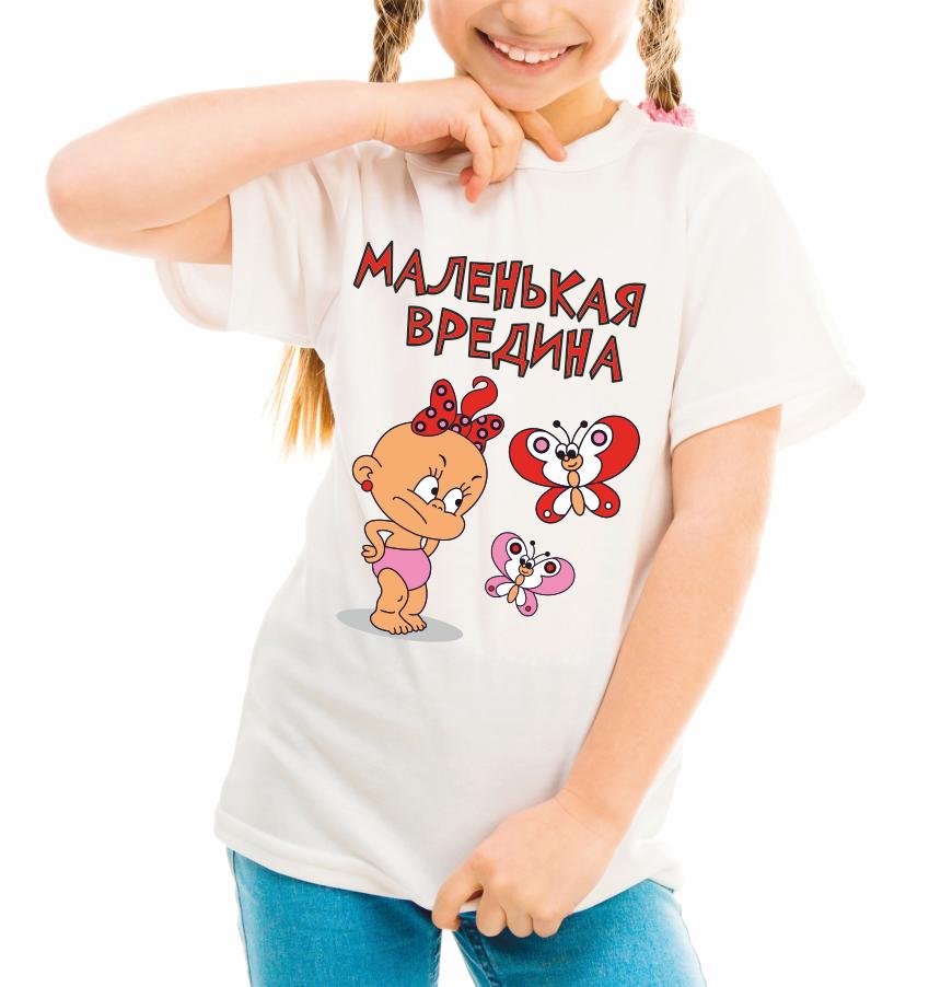 "Дитяча футболка ""Маленька непослух"""