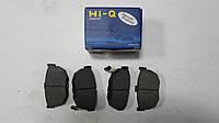 Тормозные колодки задние дисковые Hyundai Elantra 2000-2006 Hi-Q Sangsin Корея SP1062