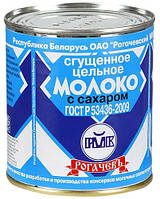 """Молоко цельное сгущеное """"Рогачев"""" 8,5% ГОСТ 380г"""