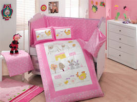 Комплекты постельного белья в кроватку для новорожденнных